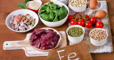 храни са богати на желязо